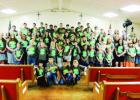 """Bee Bayou Faith Chapel held its annual Louisiana Christian Youth Camp June 22-26 with children from 12 churches in attendance. The camp was a success despite bad weather. During the Wednesday night service, a huge oak fell on the fellowship hall. Fortunately, no one was injured. 'We'd like to extend our thanks to the community for coming to help in our time of need,' Sis. Dee Temple said. 'We're thanking God for protecting everyone on the campground during the storm."""""""