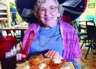 Melba Hendrix celebrates her 87th birthday at San Miguel's in Rayville.