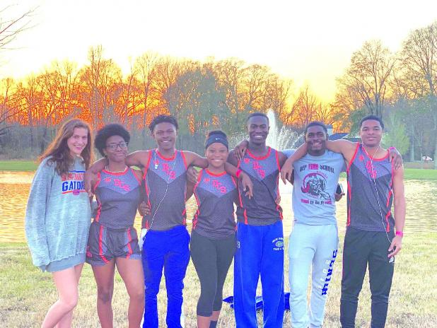 DCS track members qualified for state meet.