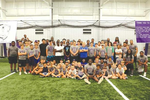 Holland football camp successful | RichlandToday com