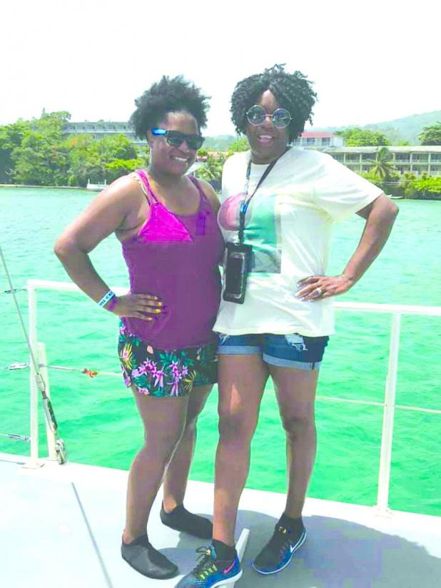 LaKeya Jones and Pamela Jones Lighten