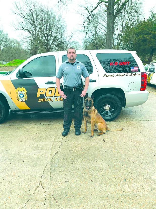 New police dog