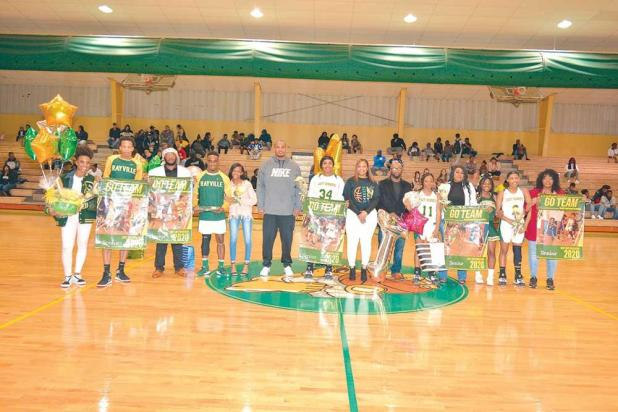 Rayville High School seniors basketball players were honored this week at Senior's Night.