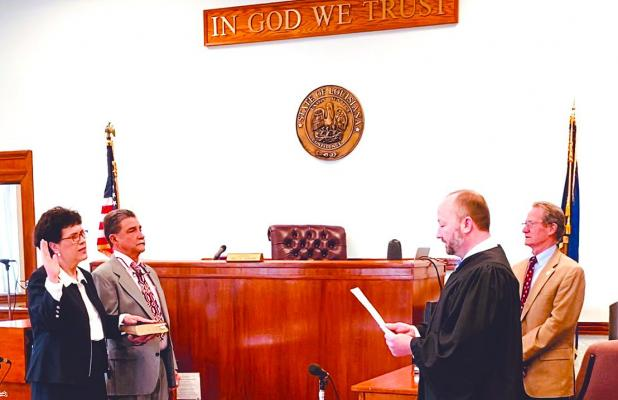 Douciere  sworn in as district attorney